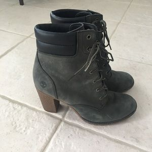 Timberland Olive Green Boots - size 10